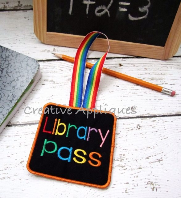 Library School Pass