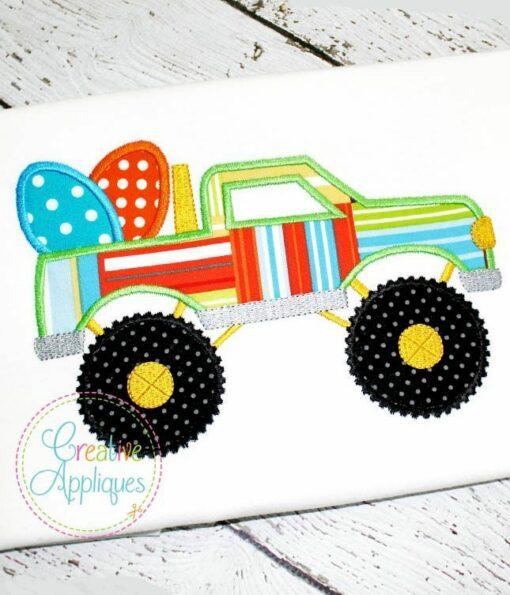 easter-egg-monster-truck-pick-up-hummer-embroidery-applique-design