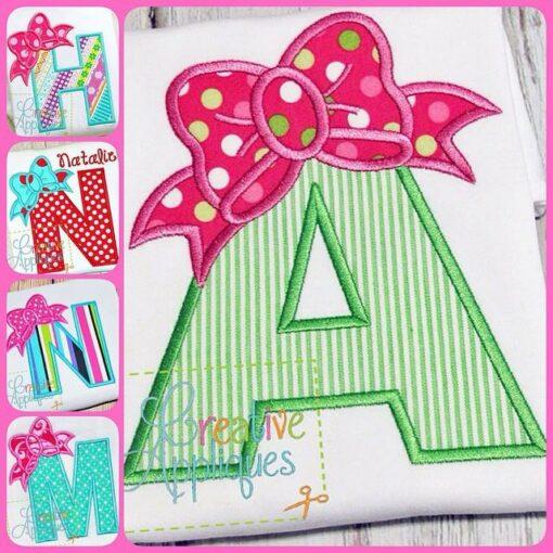 bow-alphabet-applique-set
