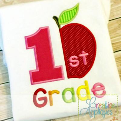 1st-grade-apple-applique