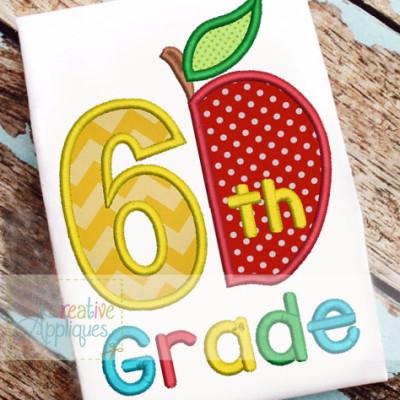 6th-grade-apple-applique