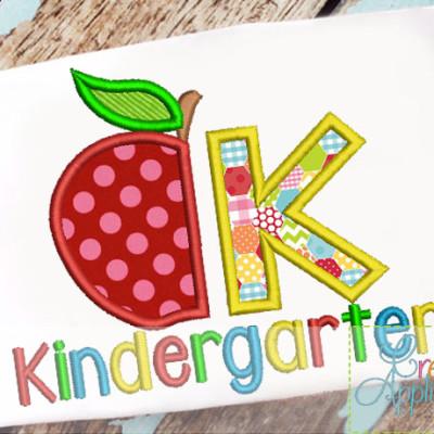 kindergarten-applique