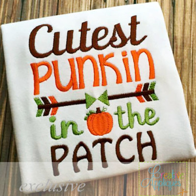 cutest-punkin-in-the-patch-embroidery