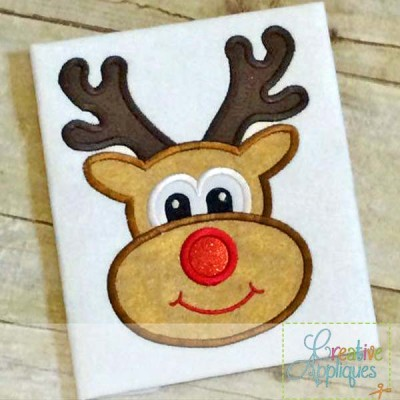 reindeer-applique