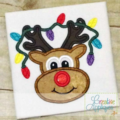 reindeer-lights-applique