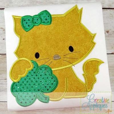 cat-clover-applique