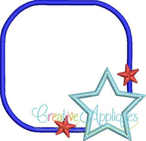 monogram-patriotic-star-applique-frame-design