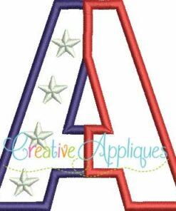 patriotic-split-stars-flag-alphabet-applique-embroidery