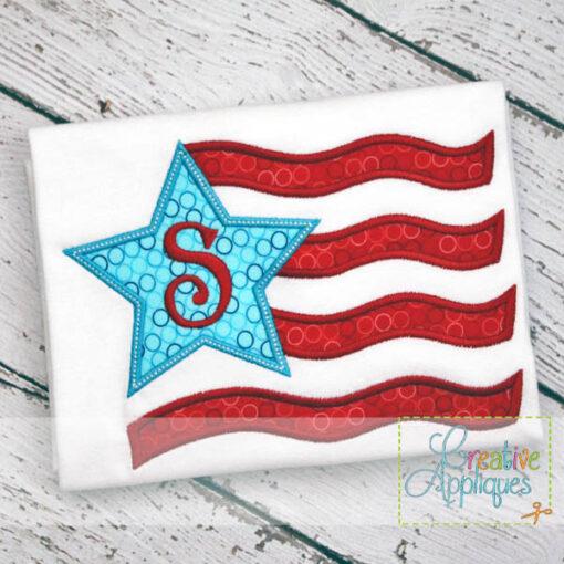 patriotic-flag-star-embroidery-applique-design