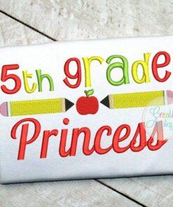 5th-fifth-grade-princess-embroidery-design