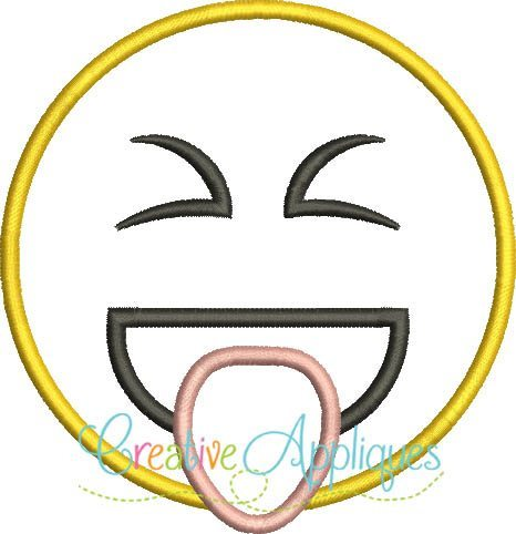 emoji-stuck-out-tongue-out-tight-tightly-closed-eyes-embroidery-applique-design