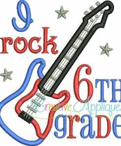 i-rock-sixth-6th-grade-embroidery-applique-design