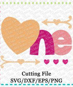 one-heart-1st-first-birthdy-heart-arrow-arrows-svg-cut-cutting-file