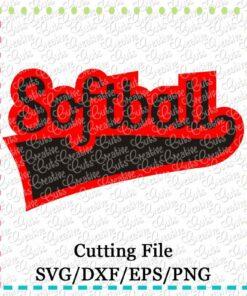softball-cutting file-svg-dxf-eps