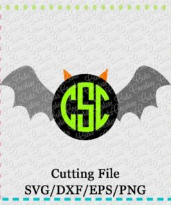 monogram-bat-svg-eps-dxf-cut-cutting-file