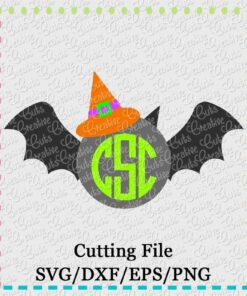 monogram-witch-bat-svg-eps-dxf-cut-cutting-file