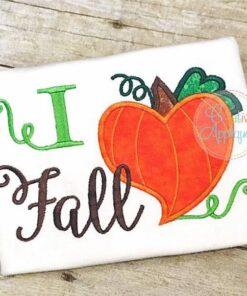 i-love-heart-fall-pumpkin-embroidery-applique-design
