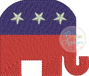 elephant-miniature-republican-party-fill-stitch-embroidery
