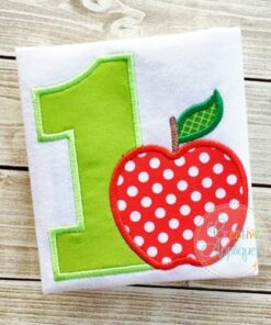 apple-one-first-1st-birthday-embroidery-applique-design