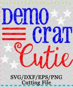 democrat-cutie-svg-cutting-file