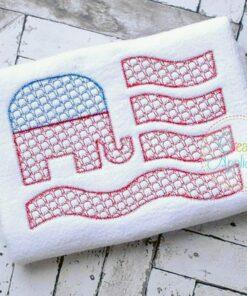 elephant-flag-embroidery-design