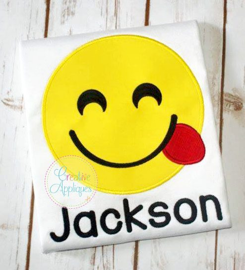 emojismiling-happy-tongue-out-embroidery-applique-design