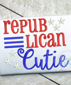republican-cutie-embroidery-applique-design