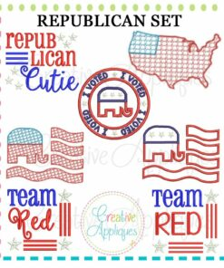 republican-embroidery-applique-set