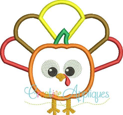 pumpkin-turkey-embroidery-applique-design