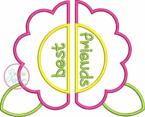 bff-best-friends-flower-embroidery-applique-design-creative-appliques