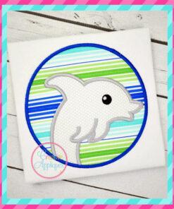 dolphin-circle-embroidery-applique-design-creative-appliques