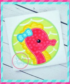 seahorse-girl-circle-embroidery-applique-design-creative-appliques