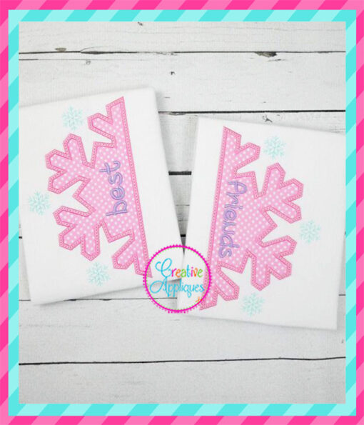 best-friends-bff-snowflake-embroidery-applique-design