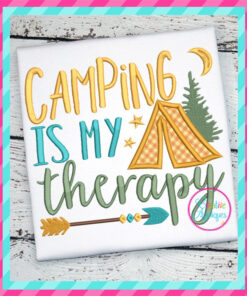 camping-is-my-therapy-embroidery-applique-design-creative-appliques