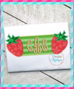 strawberry-frame-embroidery-applique-design-creative-appliques